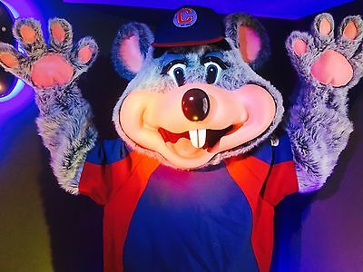 Vintage Chuck E Cheese Costume Parts Avenger Hat Very Rare