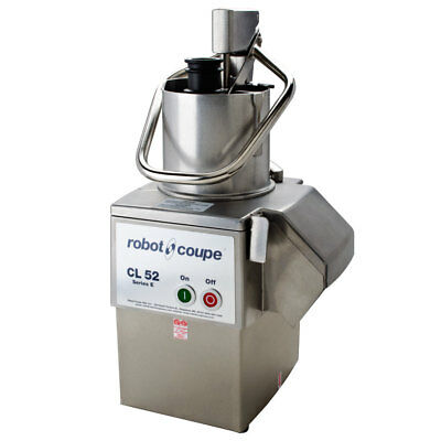 Robot Coupe CL52E Continuous Feed Vegetable Prep Food Processor With 2 Discs