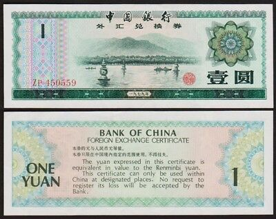 1 YUAN 1979 - CHINE / CHINA [SUP / XF] Foreign Exchange Certificate [ZP 450559]