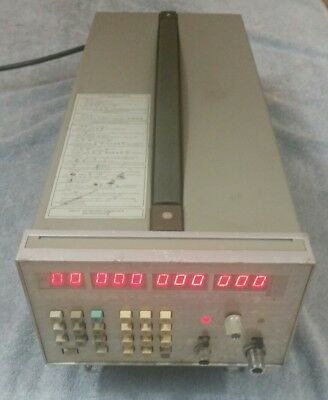 Hewlett Packard 5342A Microwave Frequency Counter - Untested