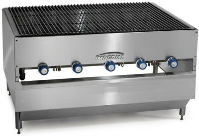 "Imperial Range ICB-4827 48"" x 27"" Stainless Gas Chicken Broiler w/ 5 Burners"