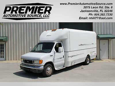 Ford Econoline Commercial Cutaway MOBILE CONCEPTS BODY MOBILE SHOWROOM RV E350 VAN 6.0 POWERSTROKE  DIESEL SERVICE RECORDS CLEAN