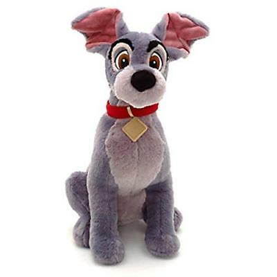 New Official Disney Lady & The Tramp 42cm Tramp Soft Plush Toy