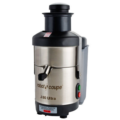 Robot Coupe J80 ULTRA 6.5 Quart Centrifugal Juicer w/ Auto Feed & Pulp Ejection