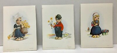 Lot of 3 1970's Menus aboard the Holland-American Line