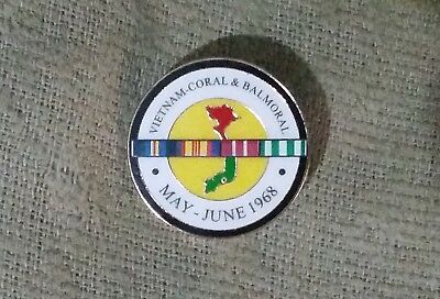 Battle Of Coral & Balmoral Vietnam Veterans Day Badge - 2018 Australian Army