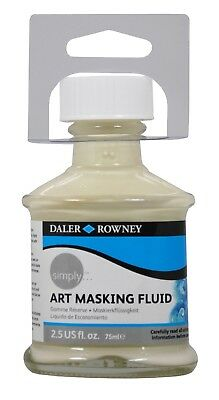 Daler Rowney Simply Art Masking Fluid for Watercolour Painting 75ml