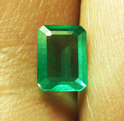 2.18 ct Natural Earth Mined Emerald Certified No Reserve