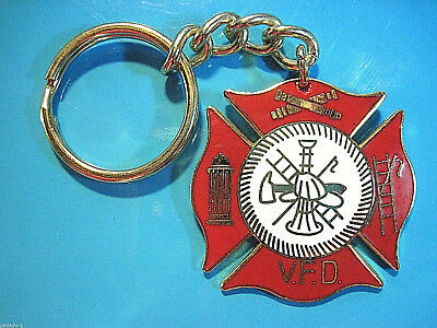 VOLUNTEER  FIRE  DEPARTMENT  -  keychain  , key chain GIFT BOXED