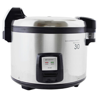 Thunder Group SEJ3201 30 Cup Electric Rice Cooker-Warmer w/ Digital Contols