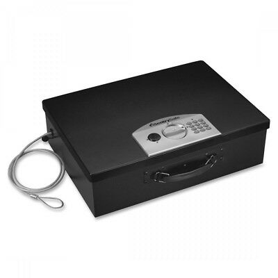 Black Portable Safe, 0.5 cu. ft. Capacity, PL048E, Sentry Safe