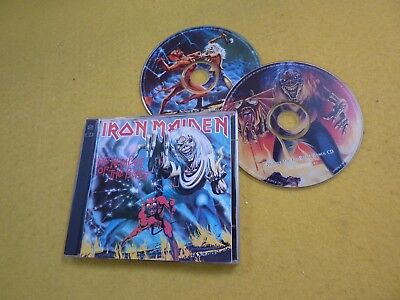 Iron Maiden – The Number Of The Beast (VG/M-/M-) booklet pasted CD   ç