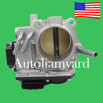 From New Throttle Body 16400-RAA-A61 For Honda Accord 2.4L 2003-2007