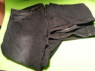 incredible prices pretty cheap limited guantity IZOD MEN'S DARK Blue Stretch-Waist Relaxed Fit Jeans Size ...