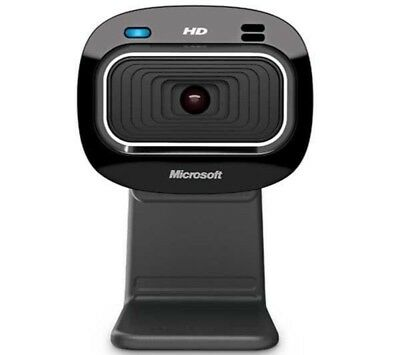 Microsoft LifeCam HD-3000 USB WebCam 16:9 Widescreen 720P HD BOXED AND SEALED