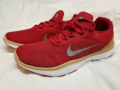 9fe8488a0 Nike San Francisco 49ers Free Trainer V7 Limited Edition Shoes Men Sz 7.5  Youth