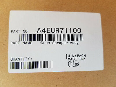 Konica A4EUR71100 Drum Scraper Assembly NEW