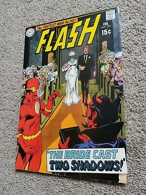 the FLASH #194 (1970) DC early BRONZE AGE Neal Adams cover!