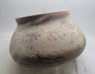 Circa 2200-1800Bce Ancient Indus Valley Harappan Pottery Vessel W/bull And Birds