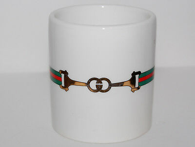 Vintage 1980's GUCCI Coffee Cup Mug Made in Italy