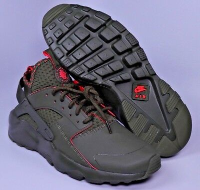 2e10067ebbd6 NIKE AIR HUARACHE Ultra Run SE Cargo Khaki Mens Shoes Size 9.5 11 ...