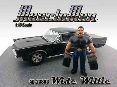 Musclemen Series - WIDE WILLIE  - 1/18 scale figure - AMERICAN DIORAMA