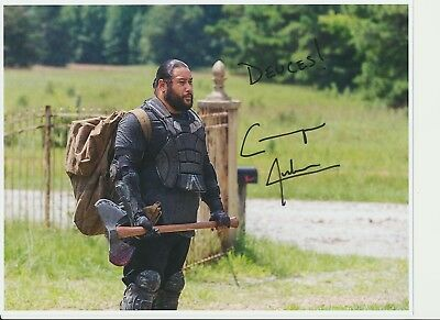 Cooper Andrews Authentic Signed Autograph, Ottawa Comiccon 2018, Walking Dead