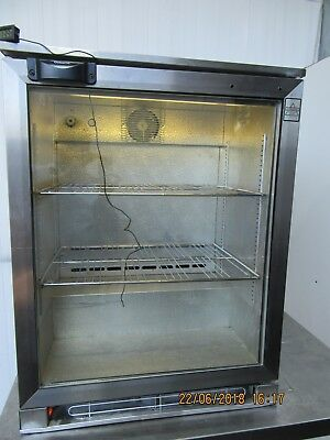 Osborne Under Counter Single Glass Door Drinks Display Fridge