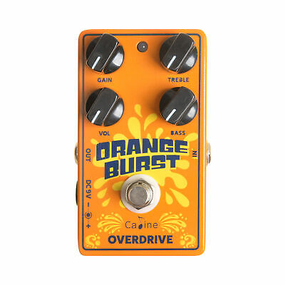 Caline CP-18 Orange Small And Exquisite Overdrive Electric Guitar Effect Pedal