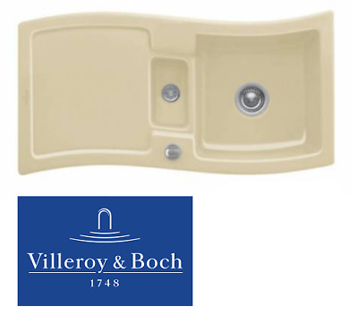 NEW BOXED VILLEROY & Boch New Wave 60 1.5 Bowl cream Ceramic Kitchen ...