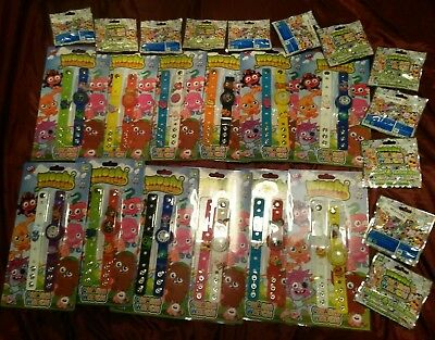 NEW WHOLESALE JOB LOT 12 Moshi Monsters Watches &48 Moshlings Charms PARTY GIFTS