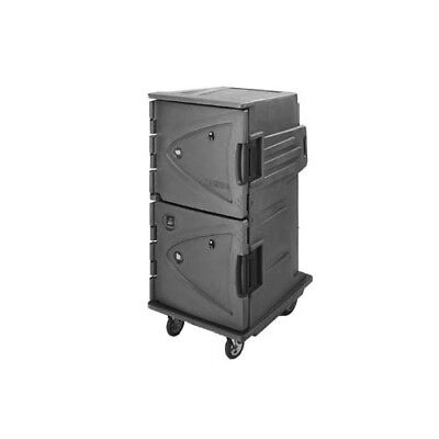 Cambro CMBHC1826TSF191 Camtherm Tall Profile Electric Hot/Cold Cart - Gray