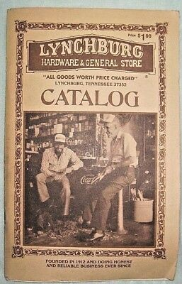 Lynchburg Hardware & General Store Catalog Jack Daniels Whiskey Tennessee 1981