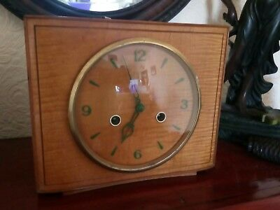 Super Rare Smiths Wind Up Mantle Clock . Good Working order.