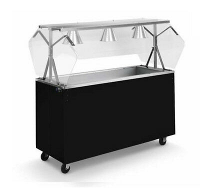 """Vollrath 39774 Affordable Portable 46"""" (3) Well Cold Cafeteria Station"""