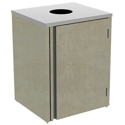 """Lakeside 3410 26-1/2""""Wx23-1/4""""Dx34-1/2""""H 35 Gallon Waste Station"""