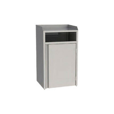 """Lakeside 4310 26-1/2""""Wx23-1/4""""Dx45-1/2""""H 35 Gallon Waste Station"""