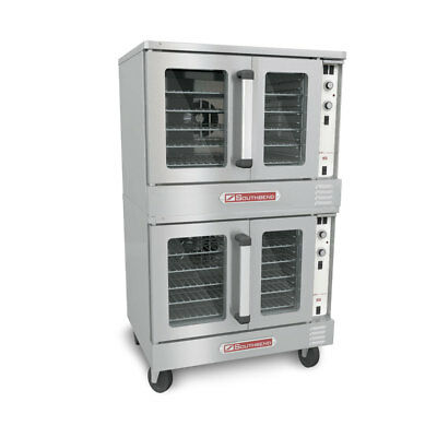 Southbend Electric Dble Stack Convection Oven Cook & Hold Bakery Depth