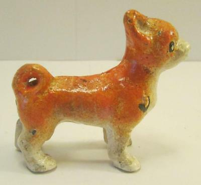 Very Nice Vintage Hubley Chihuahua Cast Iron Paperweight