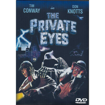THE PRIVATE EYES = DON KNOTTS = DVD(Australian Shipping Free)