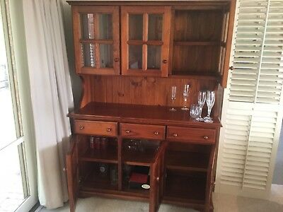 used buffet and hutch