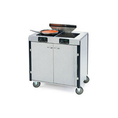 "Lakeside 2075 34""x22""x40-1/2"" Creation Express Station Mobile Cooking Cart"