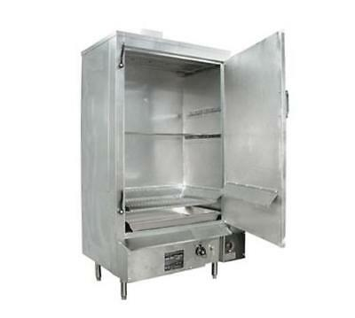"36"" Galvanized MasterRange Smokehouse Propane Gas Right"