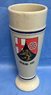 Vintage Rheinland - Pfalz Gerz West-Germany 0.5L Beer Mug