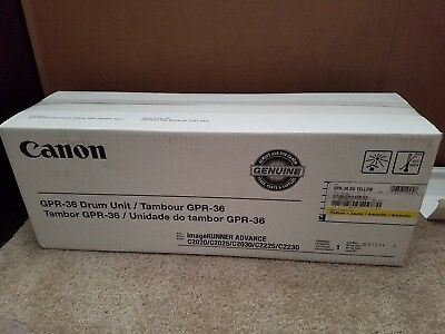 Canon GPR-36 Yellow Drum Unit 3788B004BA Unopened Brand NEW