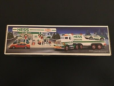 1991 Hess Toy Truck And Racer - New In Box