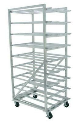 Advance Tabco CR10-162M-X Mobile Aluminum Full Can Rack Holds (162) #10 Cans