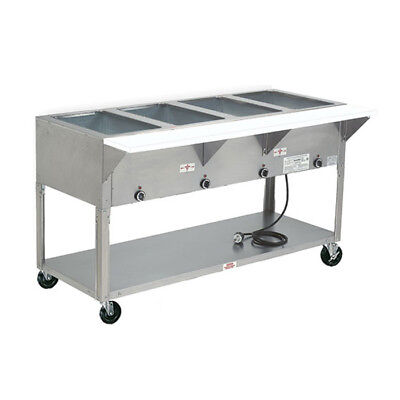 "Advance Tabco HF-5E-240 77.75"" Electric 5 Well Hot Food Table w/ SS Top 240v"