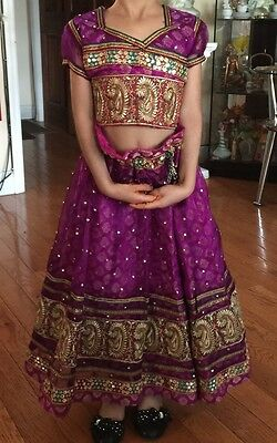 Traditional Indian 2 Piece Set For Girls Size 5