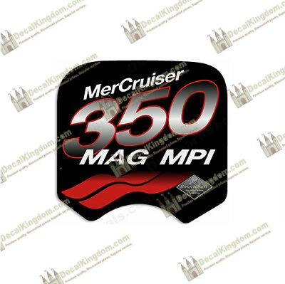 Mercruiser 350 Mag MPi Decal (Multiple Colors Available) Marine Grade 3M